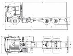 Самосвал Ford 2526D LR