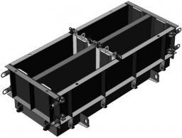 Форма стальная переналаживаемая по длине ФБС 24(12).3.6-т