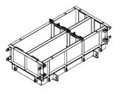 Форма стальная переналаживаемая по длине ФБС 24(12).5.6-т