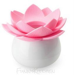 Цветок для хранения зубочисток и ватных палочек
