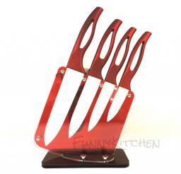 Керамические ножи на подставке