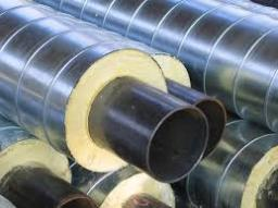 Труба стальная в оцинкованной оболочке ТГИ ППУ-ОЦ 630x8/800