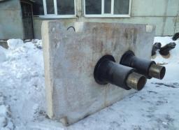 Опоры скользящие для труб ППУ Д=219 мм