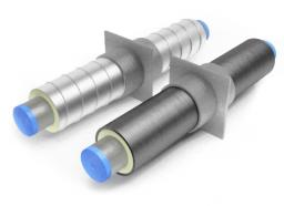 Неподвижная опора для труб ППУ Д=219 мм