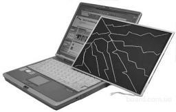 Замена матриц(экранов) на ноутбуках.