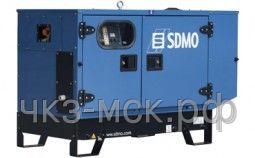 Дизельный генератор SDMO T 6KM в кожухе