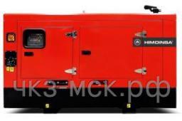 Дизель-генератор HDW-120 T5 Doosan в кожухе