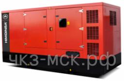 Дизель-генератор HMW-280 T5 MTU в кожухе