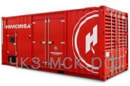 Дизель-генератор HMW-1375 T5 MTU контейнер