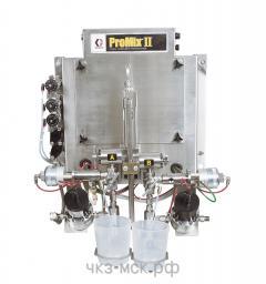 Установка для дозирования и распыления двухкомпонентных материалов ProMix II