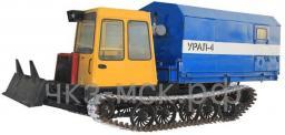 Сварочная установка Урал-4 на базе трактора Т-147