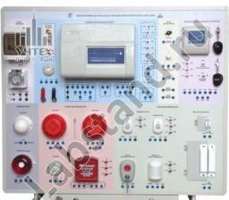 Лабораторный стенд «Электромонтаж и наладка охранно-пожарной сигнализации» ЭиНОПС-01