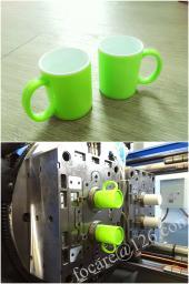 Литьевая форма для двухцветной кружки в Китае|Изготовление пресс-форм для двухцветной кружки