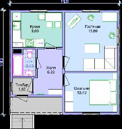 Проекные работы домов, коттеджей из сип панелей
