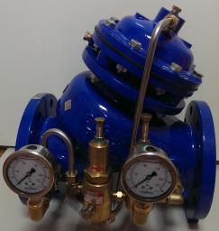 AV-300(PRPS), DN350 PN16/25, Автоматический редукционный регулирующий клапан давления тип