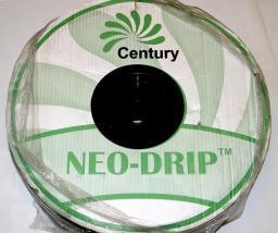 Капельная лента эмиттерная NEO-DRIP, 16мм, 8mil, шаг капельниц 20 см, расход воды при давлении 1,0 атм. 2,4 л/ч, 500 м/бухта