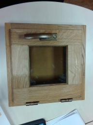 Окна для бани (дуб) стеклопакет