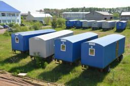 Жилые вагончики Торос фото вагон-дом балки для проживания рабочих, итр