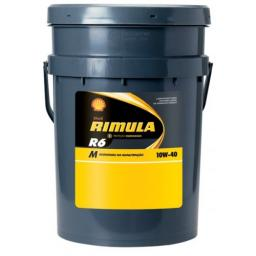 Моторное масло Shell Rimula R6 M 10w40 (20л)