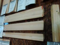 Плинтус деревянный хвоя
