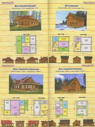 Дома,срубы,бани из натурального дерева (пихта). 240 $/ кв.м. (по полу)