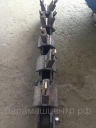 Цепь втулочно-роликовая с баровыми резцами В210А-165А-7301.00.000УСБ