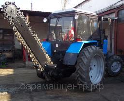 Экскаватор Цепной Универсальный ЭЦУ-150 с зимним рабочим органом