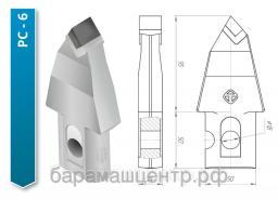 Резец струговый РС 6,РС 3,1РС-4П,1РС-4Л