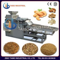 машина резания на кубическами орехи