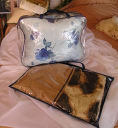 Упаковка ПВХ для одеял, пледов и подушек