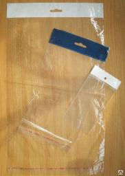 Пакет полипропиленовый с клапаном и скотчем
