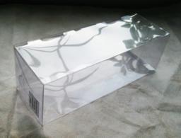 Коробка-ПЭТ подарочная прямоугольная 8,6 х 8,6 х 26 см