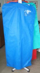 Чехол для одежды с боковыми вставками 130 х 60 + 10 см