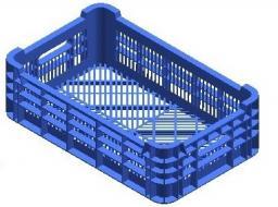 Ящик для овощей 20л (520*320*160 мм) АП 106