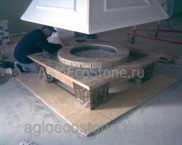 Изготовление изделий из мрамора, гранита, травертина