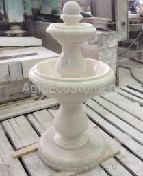 Мрамор вазы, фонтаны, шары