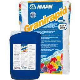 Быстросхватывающийся плиточный клей Granirapid Mapei