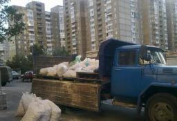 Вывоз мусора, самосвал 5 тонн, грузчики