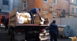 Самосвал 10 тонн, вывоз строительного мусора, грузчики