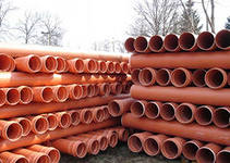 Трубы ПВХ канализационные ( для наружной канализации) 200мм