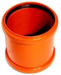 Муфта для наружной канализации ПВХ