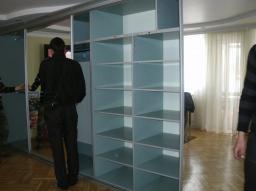 Сборка шкафа купе, услуги мебельщиков