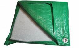 Тентутепленный из полипропилена 4х6м пл 220 г/кв.м (зеленый)