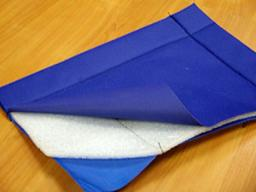 Тент утепленный из полипропилена 4х6м пл 180 г/кв.м (синий)