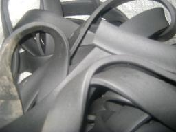 Шнур резиновый 1-1С прямоугольный 10х40 мм