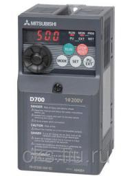 FR-D720S-008-EC преобразователь частотный 0.1кВт 220В