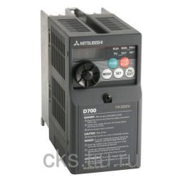 FR-D720S-025-EC преобразователь частотный 0.4кВт 220В