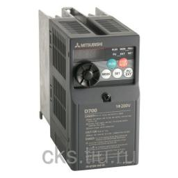 FR-D720S-042-EC преобразователь частотный 0.75кВт 220В