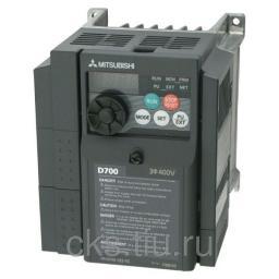 FR-D740-036SC-EC преобразователь частотный 1.5кВт 380В