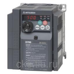 FR-D740-050SC-EC преобразователь частотный 2.2кВт 380В